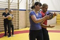 Training Ringen Frauen